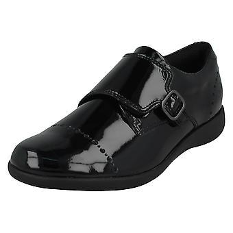 Girls Clarks Formal Shoes Etch Strap K