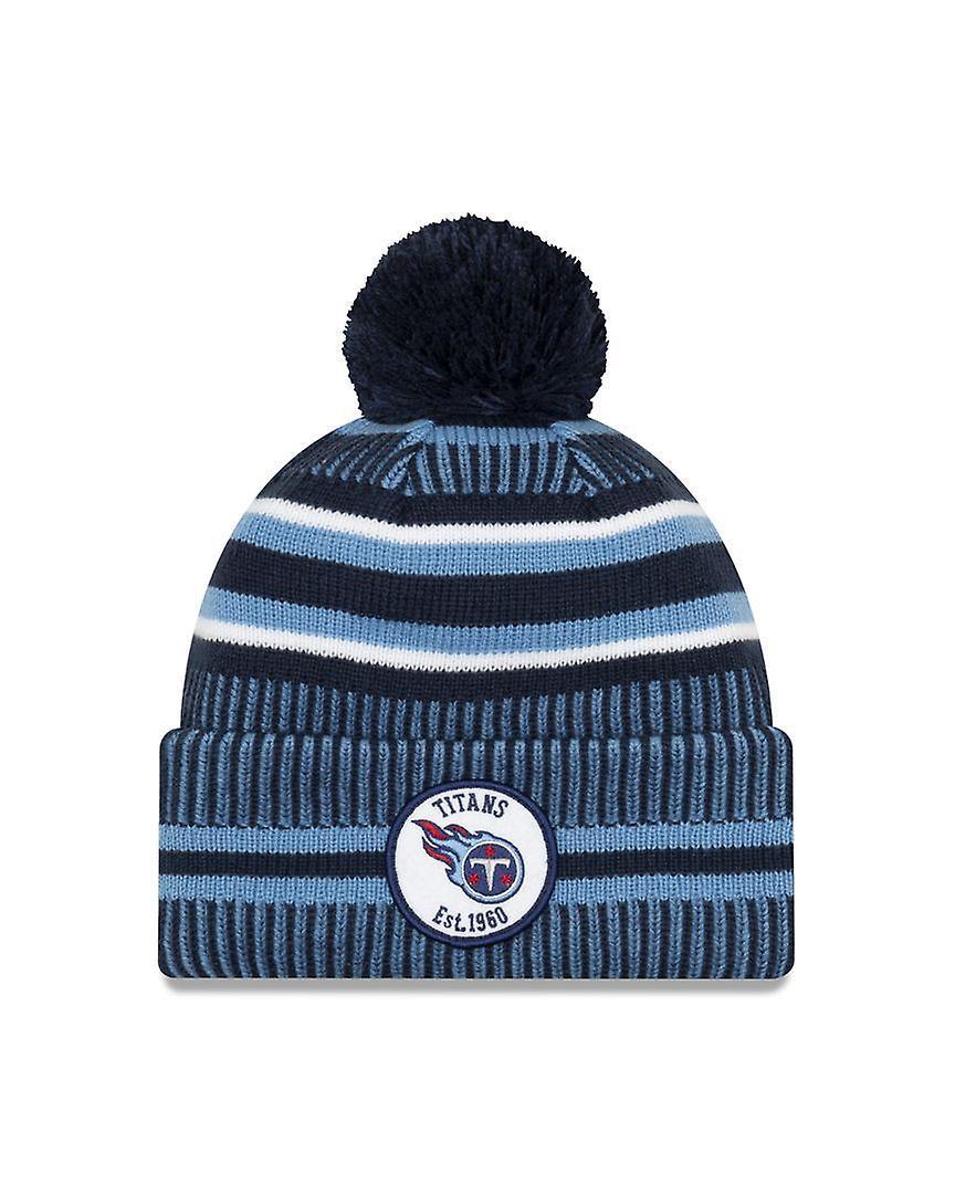 New Era On Field Sport Knit Hm Beanie ~ Tennessee Titans