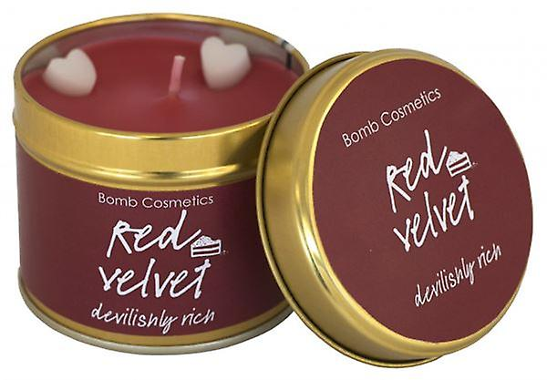 Red Velvet Candle In A Tin