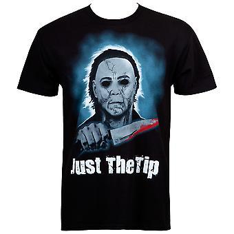 Halloween Just The Tip Men's Black T-Shirt