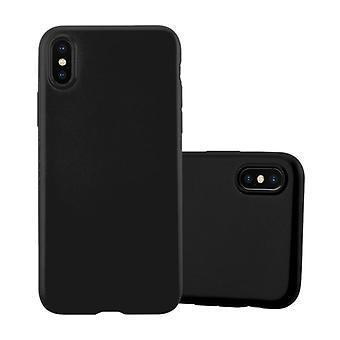 Funda Cadorabo para Apple iPhone X / XS Funda de Funda - Funda de teléfono móvil hecha de silicona TPU flexible - Funda protectora de silicona Ultra Slim Soft Back Cover Parachoques