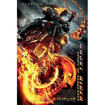 Ghost Rider 2 Poster Double Sided Regular (2012) Original Cinema Poster