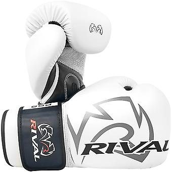 Rival Boxing RB2 2.0 Super Hook and Loop Bag Gloves - White