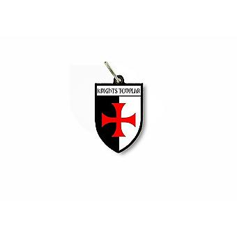 Door key flag city coat of arms templar
