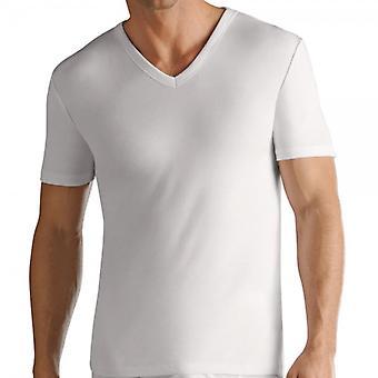 Jockey 2 stk V-shirt moderne klassisk hvid 1850 1823