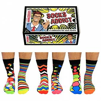 United Oddsocks Socks Addict Novelty Socks