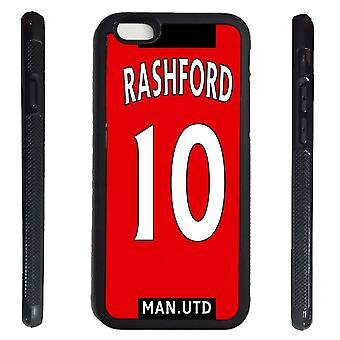 iPhone 7/8 shell Rashford sweater rubber shell Manchester player