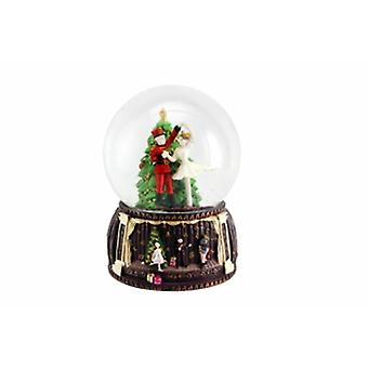 Gisela Graham Nutcracker Musical Snow Dome