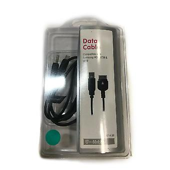T-Mobile Micro USB Data Cable for Samsung  t439/t739/t819 - Black
