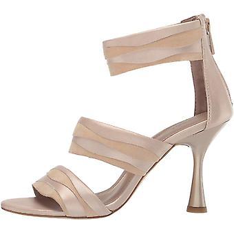Donald J Pliner Womens NEAV-KSKS Fabric Peep Toe Ankle Strap Classic Pumps