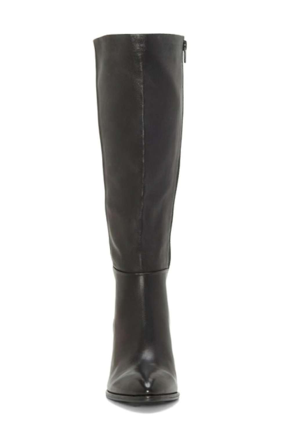 Enzo Angiolini Womens Wenda Fabric Pointed Toe Knee High Fashion Boots