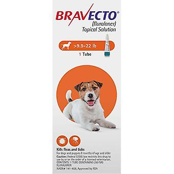 Bravecto Topical For Dogs 4.5-10 kg (10-22 lbs)
