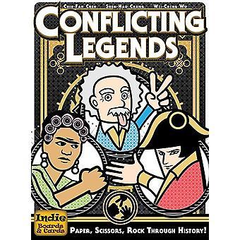 Gioco di carte Leggende in conflitto (2a edizione)