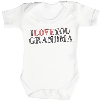 I Love You Grandma Baby Bodysuit / Babygrow