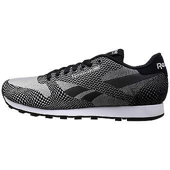 Reebok Men-apos;s CL Runner Jacquard Classic Sneaker