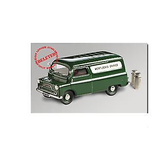 Bedford CA Van (Mortlock`s Dairies 1965) Diecast Model Van