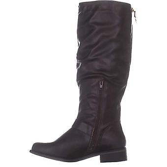 Xoxo Womens Mikler Closed Toe Knee High Riding Boots