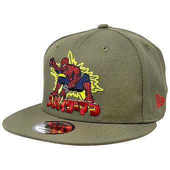 Japanese Spider-Man Marvel 80th New Era 9Fifty Adjustable Hat
