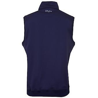 Bobby Jones Mens XH2O Crawford 1/4 Zip Wicking Golf Vest