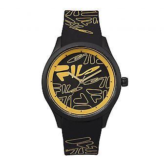 Watch Fila 38-129-201 - Silicone Black Watch 40 mm Men/Women