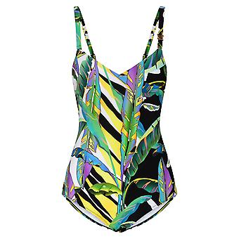 Féraud 3205017-16072 Naiset's Jungle Green Yksiosainen uimapuku