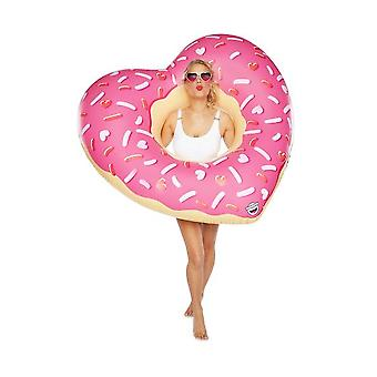 Bigmouth giant heart donut pool float