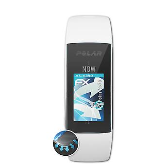 atFoliX 3x Protective Film compatible with Polar A370 Screen Protector clear&flexible