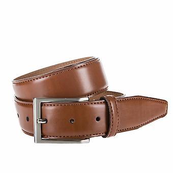 Neat Cognac Pantalon Belt