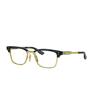 DITA Statesman Six DTX132 03 Dark Grey Swirl-Yellow Gold-Black Iron Glasses