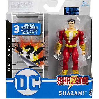 DC Comics Basic 4'' Figur - Shazam