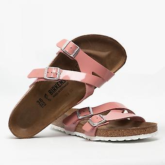 Birkenstock Yao 1016072 (reg) Doamnelor Birko-flor două curele sandale de brevete Old Rose