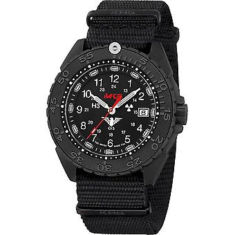 KHS Wristwatch الرجال المنفذ الأسود تيتان CR KHS. ENFBTCR.NB