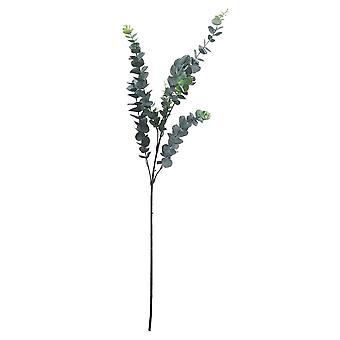 Hill Interiors Artificial Tall Single Stem Silver Dollar Eucalyptus