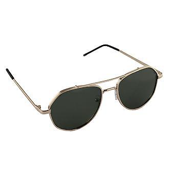 Herr solglasögon och solglasögon Kvinnors Polaroid Pilot - Guld / Grön med gratis brillenkokerS361_1