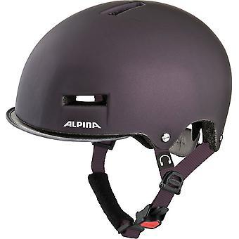 Alpina Grunerlokka Fahrradhelm // nightshade