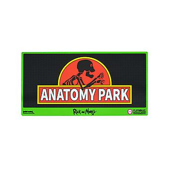 Official Rick and Morty Anatomy Park Door Mat / Floor Mat
