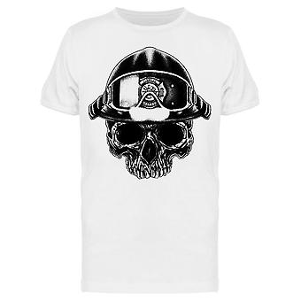 Skull With Glasses And Helmet Tee Men's -Image by Shutterstock