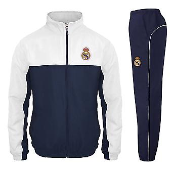 Real Madrid Officiel Football Gift Boys Veste et Pantalons Survêtement Ensemble