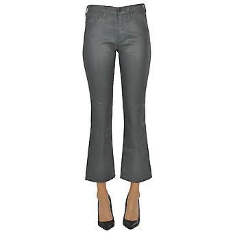 Ag Adriano Goldschmied Ezgl509001 Women's Grey Cotton Pants