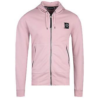 MA.Strum Full Zip Cassis Pink Training Hoodie