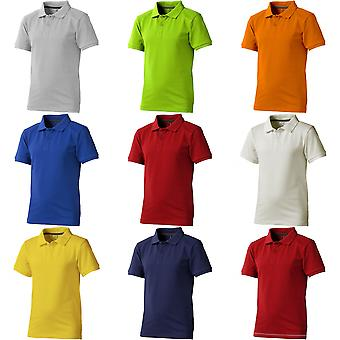Elevate Childrens/Kids Calgary Short Sleeve Polo