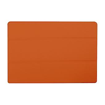 Slim Compact PU Magnetic Leather Case voor Lenovo Tab 10 A3-A30[Oranje]