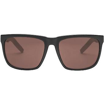 Electric California Knoxville XL Sport Sunglasses - Matte Black/Polarized Rose Pro