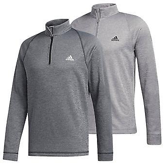 adidas Golf Herre 2020 Mellemvægt Halv Zip Mock Neck LC Logo Sweater