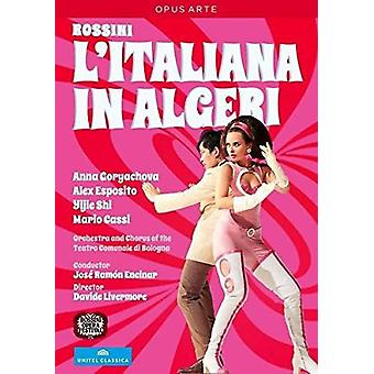 Litaliana in Algeri [DVD] USA import