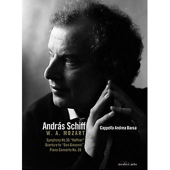 Mozart/Bach - Andras Schiff Plays & Conducts [DVD] USA import