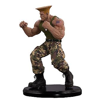 Street Fighter Guile 1:4 Standbeeld