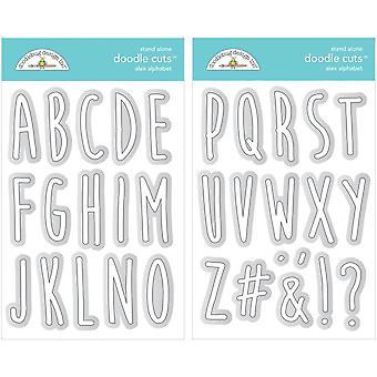 Doodlebug Design Alex Alphabet Doodle Coupes