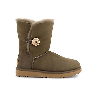 UGG - Shoes - Ankle boots - BAILEY_BUTTON_II_1016226_EUCALYPTUS - Ladies - darkolivegreen - EU 38