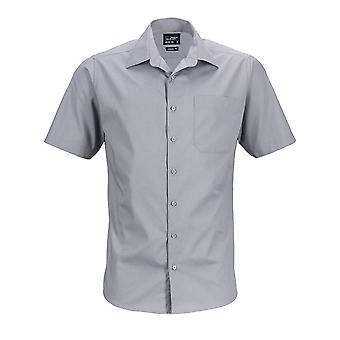 James och Nicholson Mens kortärmade Business skjorta